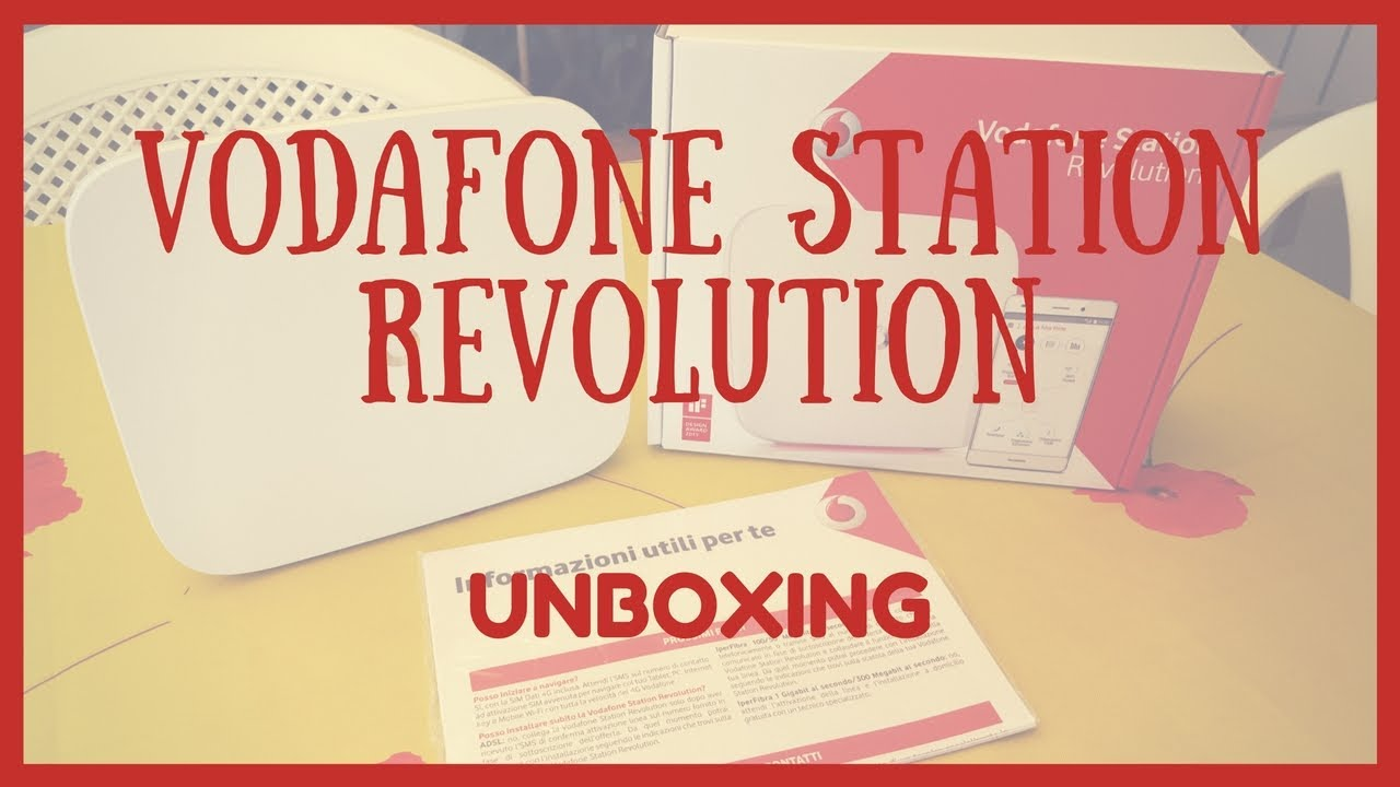 Unboxing (HD) - Vodafone Station Revolution [HHG2500]