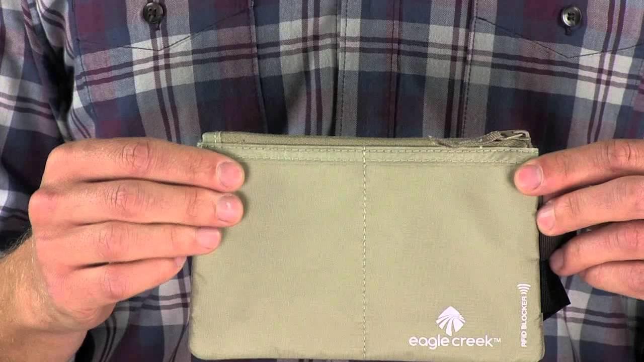 Travel accessories rfid blocker hidden pocket youtube for Travel gear hidden pocket