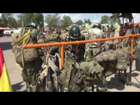 Curso de paracaidismo de soldados 2015 (CITE)