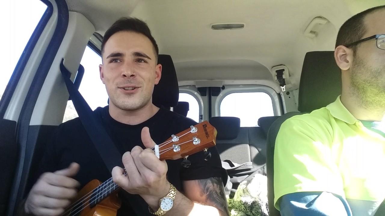 how to play slowly despacito on the ukulele