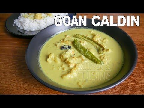 Goan Caldin Recipe | Goan Coconut Milk Curry | Goan Caldine ||*Fatima Fernandes | Goan Recipes