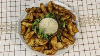 Хрустящая картофель в сухарях   Crispy potato gratin