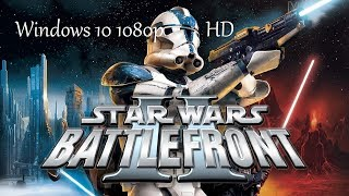 Star Wars Battlefront 2 1080p Windows 10
