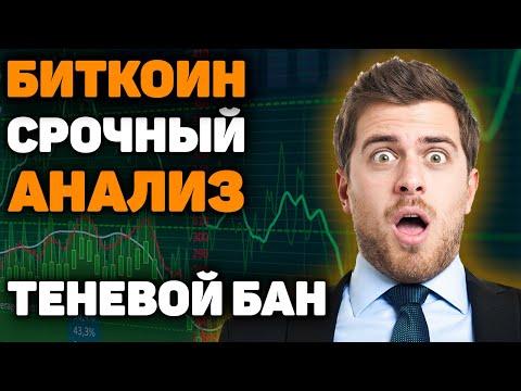 СРОЧНО! Биткоин ИДЕТ на $10500! Анализ Рынка Криптовалют! Прогноз, Обзор и Курс! Теневой Бан Ютюба!