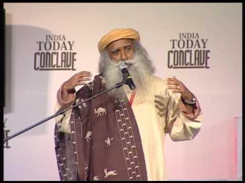 India Today Conclave: Session With Sadguru Danah Johar