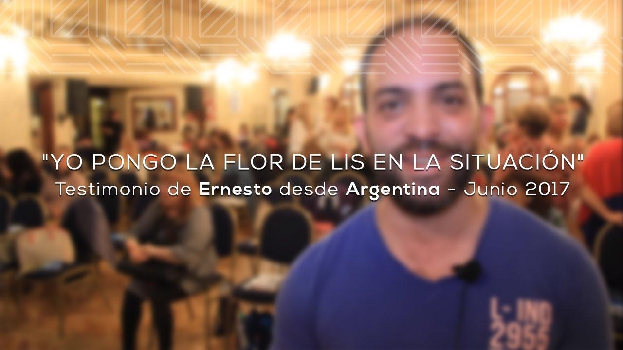 Yo Pongo La Flor De Lis En La Situación Testimonio De Ernesto