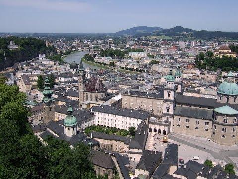 Österreich, Salzburg Altstadt (Austria, Salzburg old town) HD 1080P