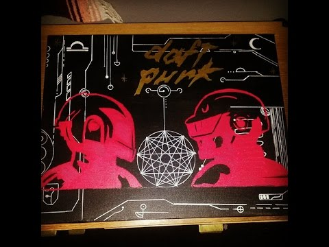 Daft Punk Artwork Speed Art