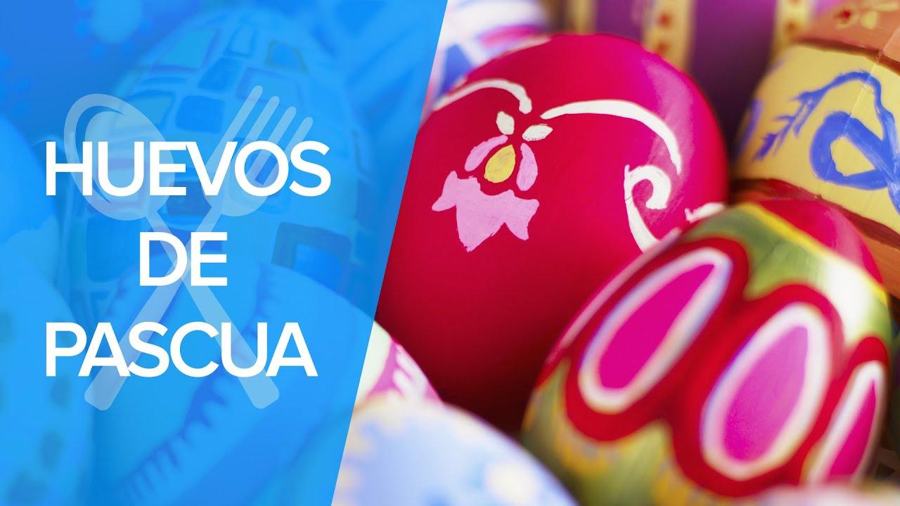 Huevos de Pascua de chocolate paso a paso | Recetas infantiles
