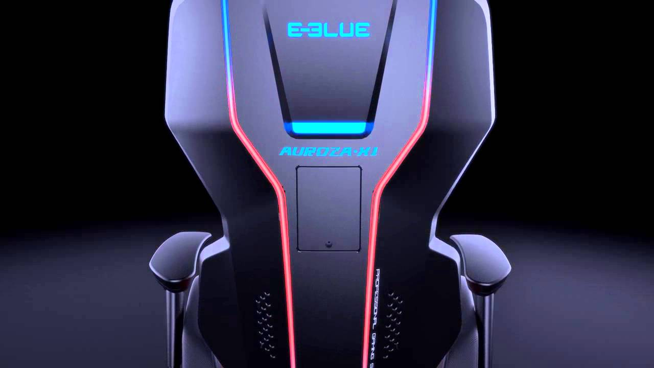 E Blue Auroza Gaming Chair Youtube