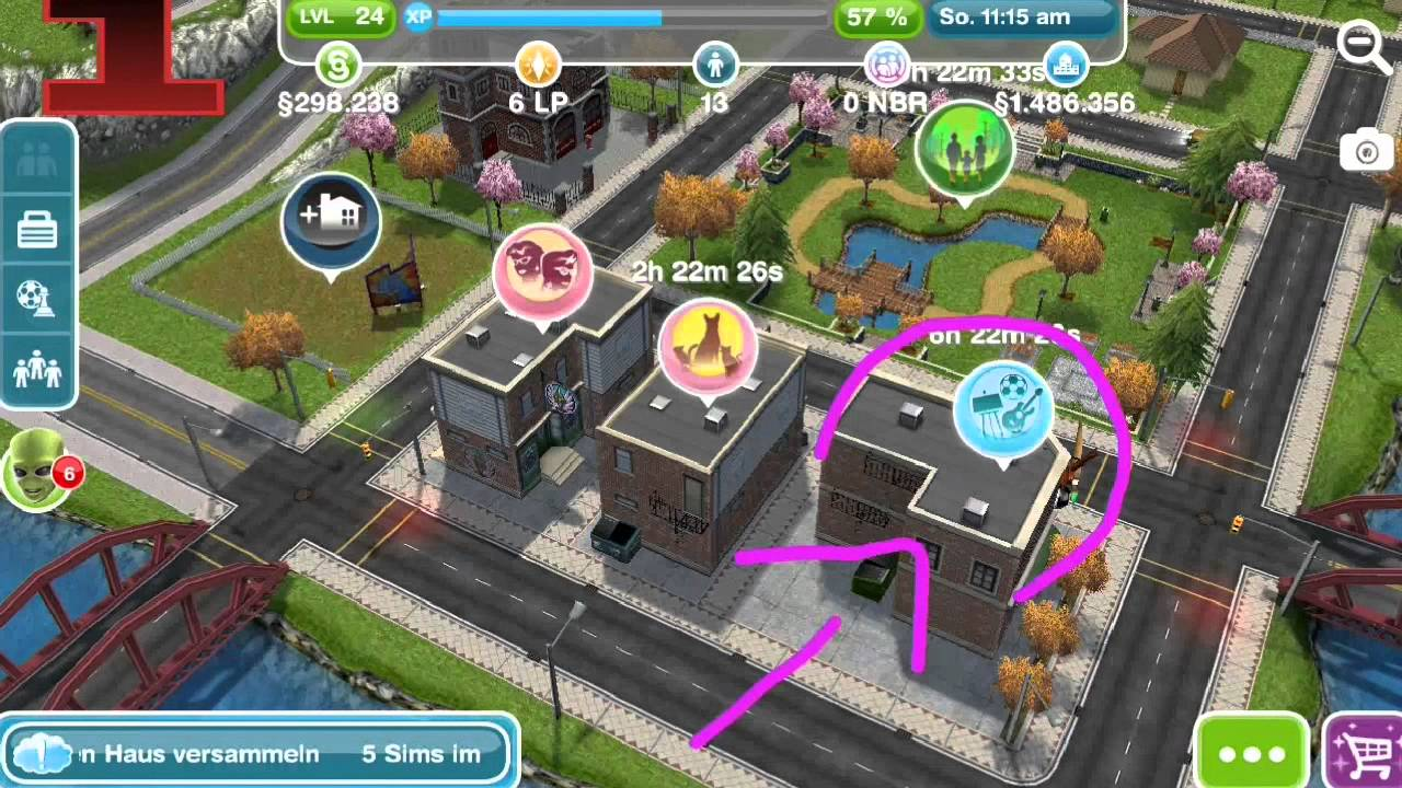 Sims Free Play Mission Design Youtube