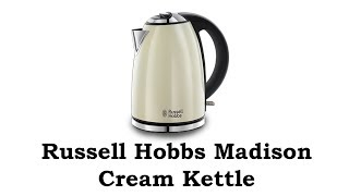 Russell Hobbs Kettle Madison Cream  23608 Unboxing & Review