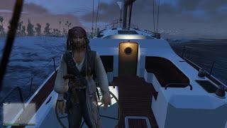 Captain Jack Sparrow mod GTA 5 ( установка и обзор )