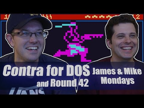 Contra for DOS - James and Mike Mondays