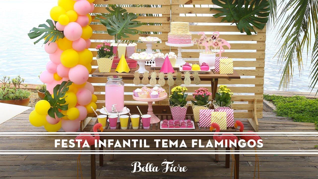 Festa Infantil Tema Flamingo Como Fazer Uma Linda Festa Tropical