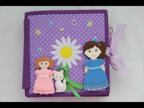 Видеозапись Развивающая книжка 2 Кукольный дом / Quiet book 2 A Doll's House