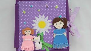Развивающая книжка #2 Кукольный дом / Quiet book #2 A Doll's House