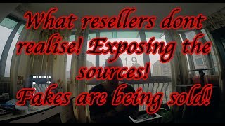 Resellers don't realize. Selling Fakes! Scam Exposing. Replica sneakers from stores.