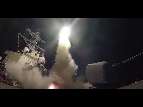 U.S Strikes on Syria are under way, Damascus is suspected target!