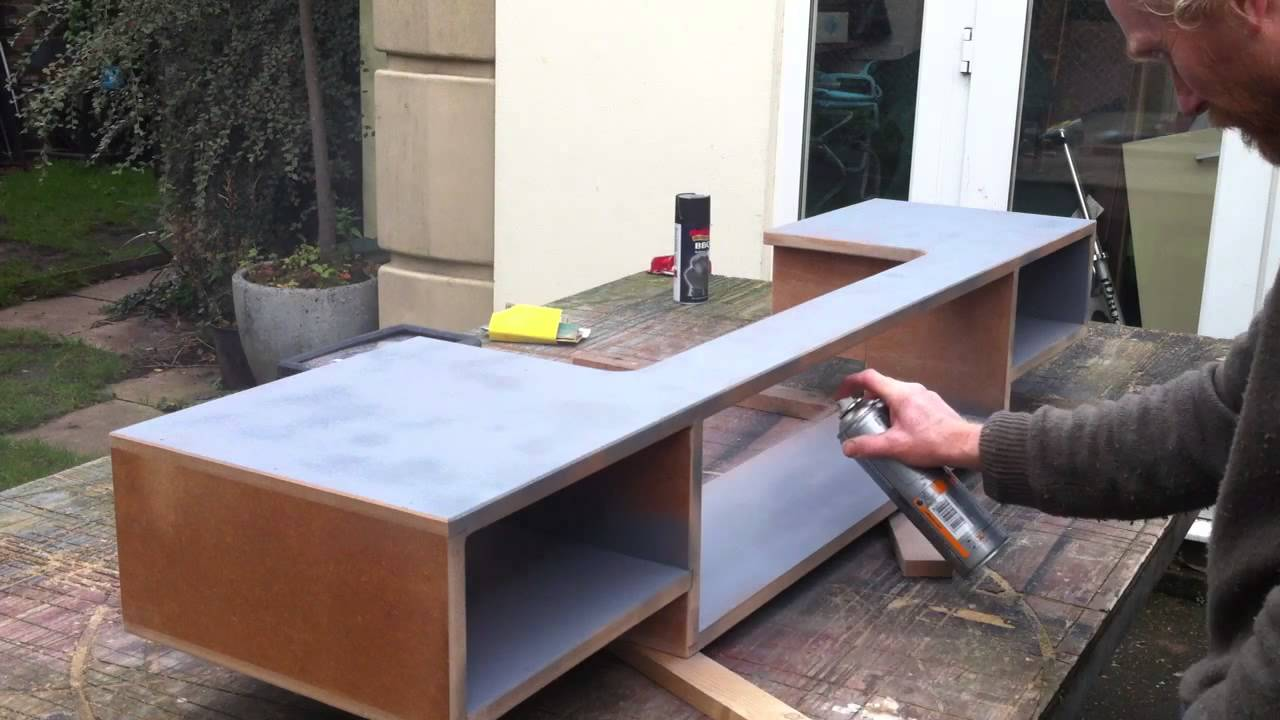 How to make a home recording studio desk youtube Build my home
