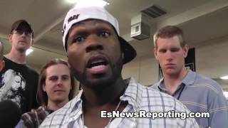 Floyd Mayweather Sr. I HIT HARDER THAN 50 CENT and all his muscles - esnews boxing