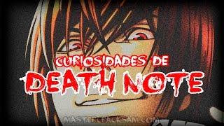"""""""DEATH NOTE"""" SECRETOS Y CURIOSIDADES OSCURAS"""