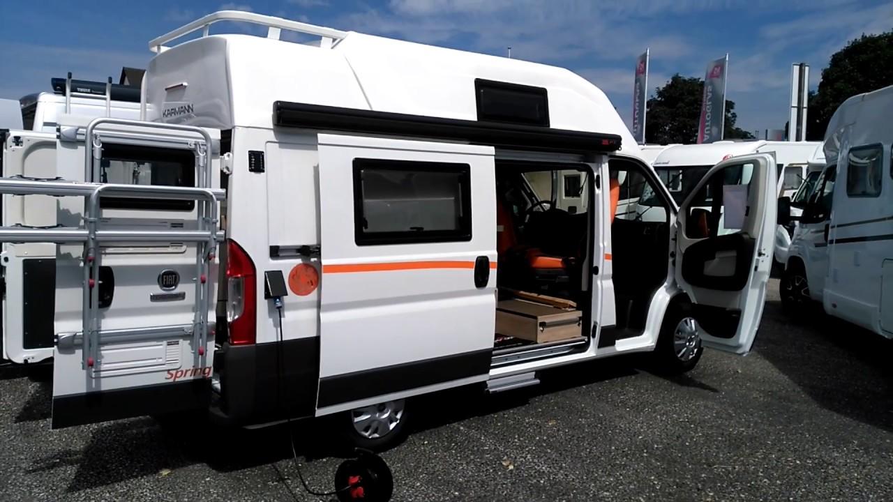 CamperTobi - Karmann Dexter 550 Kastenwagen Roomtour - 2017 Walkthrough