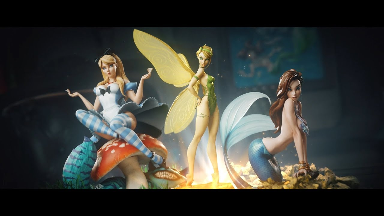 j scott campbell fairytale fantasies by sideshow