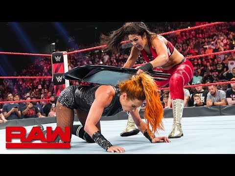 HINDI - Bayley viciously assaults Becky Lynch: Raw, September 3, 2019
