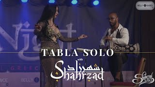 Shahrzad And Orhan Ismail Belly Dance Tabla Solo - Shahrzad Studios