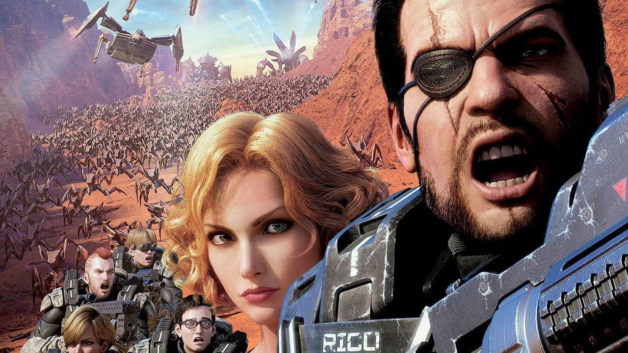 download starship troopers traitor of mars (2017) sub indo
