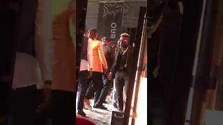 Stonebwoy and Shatta Wale fight over Reggae/dancehall artiste of the year nearly messes up 20th VGMA