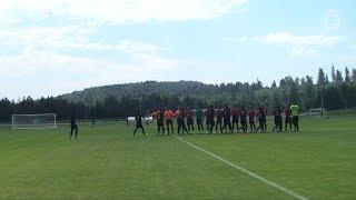 ملخص مباراة النصر نادي غازي عنتاب التركي || مباراة ودية - معسكر العالمي في تركيا