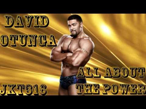 WWE David Otunga Theme -''All About The Power'' (HQ Arena Effects)