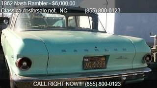 1962 Nash Rambler  for sale in Nationwide, NC 27603 at Class #VNclassics
