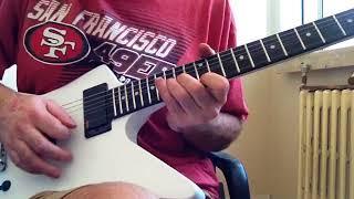 Home Built Explorer Guitar (Metallica - Orion)
