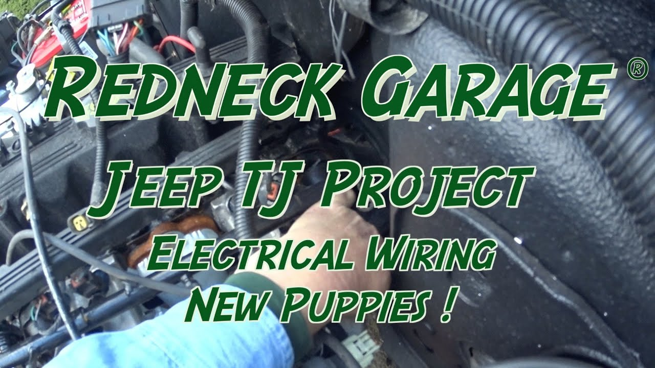 [DIAGRAM_38IS]  Jeep TJ Project- Main Wiring- Grounds and Sheltie Puppies !!! - YouTube | 94 Wrangler Automatic Transmission Wiring Diagram |  | YouTube