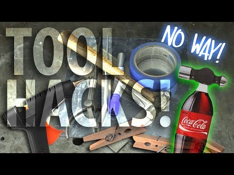 TOOL HACKS YOU WON'T BELIEVE WILL SAVE YOU TIME!!