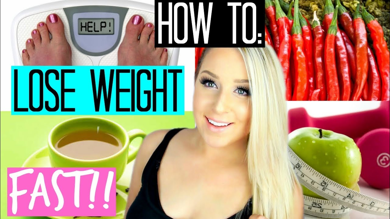 HOW TO LOSE WEIGHT FAST | Drop 5 Pounds in 5 Days!! - YouTube