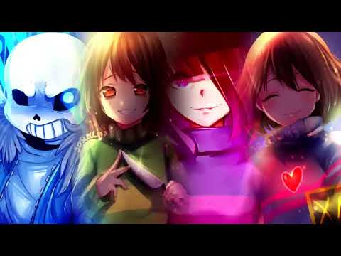 【1 Hour】Stronger Than You / Scared Of Me Matchup (Frisk, Chara, Sans, Betty)