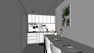 3D 모델링 마포구 도화동 마포도화 아파트 인테리어 2…