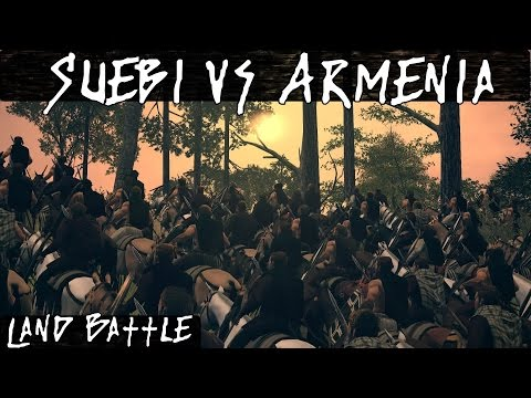 Total War Rome 2 Online Battle 222 Suebi Vs Armenia