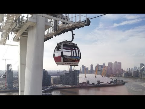 Riding The Emirates Air Line Cable Car In London