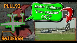 Marine KC-130 and Fighter F-35 suffer MID-AIR COLLISION DURING AAR EXERCISE!