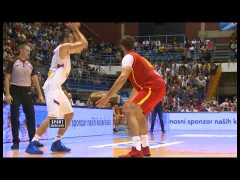 Trofej Beograda 2017, Srbija - Crna Gora 82:71