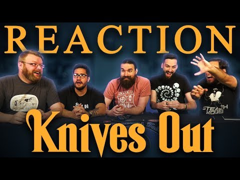 Knives Out (2019 Movie) Official Trailer REACTION!!