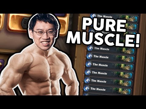 THIS DECK IS PURE MUSCLE! | Heist Ch. 5 | Rise of Shadows | Hearthstone