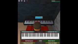 My Heart Will Go On - Titanic by: James Horner & Will Jennings on a ROBLOX piano. [Advanced]