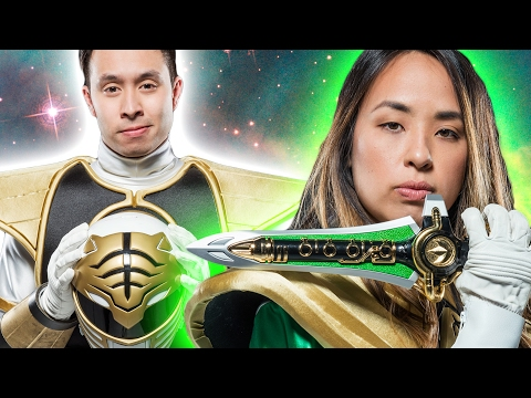 Thumbnail: People Try On Power Ranger Suits