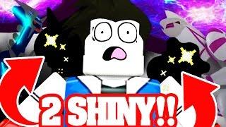 2 NUOVO SHINY POKEMON!! MEGA EVOLUTION e POKEMON LEGENDARY Pokémon Bronzo Bronzo ROBLOX!! #13